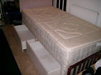 Layezee Single Divan Bed