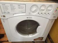 Built in washer dryer