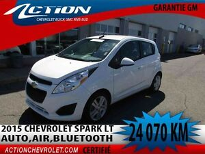 2015 CHEVROLET SPARK LT AUTO,AIR,BLUETOOTH