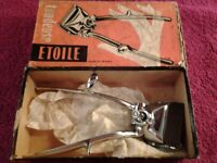 Vintage Metal Hand Hair Clipper Razor Cut Model (Tondeuse Etoile-GV La Coupe)-Proceeds To Charity