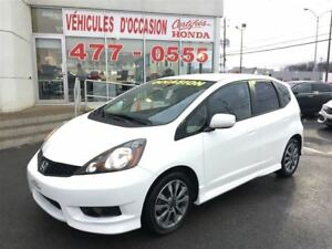 2014 Honda Fit Sport, Wow Roues d'alliages 16 Po