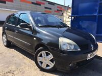 Renault Clio 1.2 16v Dynamique, New Clutch Fitted Long MOT 2 Owners Low Mileage