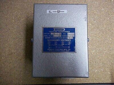 Dongan Signaling Transformer 36-10n 480 Volts100 Amp Unopened Box New Old Stock
