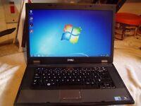 Dell Latitude E5510 laptop, i5 Quad Core 2.53Ghz Processor, 1TB hard drive, 4GB RAM