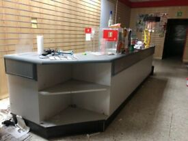 Large quality counter from convenience store shop