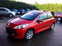Peugeot 207 1.6 petrol mot 12 months