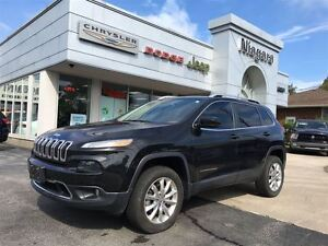 2014 Jeep Cherokee LIMITED,ACTIVE DRIVEII,ALLOYS,LEATHER,HTD SEA