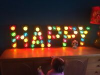 LIGHT UP LETTER | MARQUEE SIGN | WEDDING LIGHT | WORD SIGN | BAR LIGHT | WEDDING LIGHT | SHOP SIGN