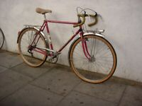Vintage Mens Road/ Racing/ Commuter Bike By Peugeot, Red, JUST SERVICED/ CHEAP PRICE!!!
