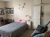 Huge double room available in two bedroom flat, seven dials.