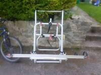 Campervan bike carrier for 2 bikes