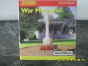 Hornby Skaledale R8575 OO Gauge Building WAR MEMORIAL - New
