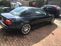 Immaculate Low mileage Bmw M3 Convertible also with Hardtop.Carbon Black.Full leather interior.