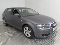2008(08)AUDI A3 1.9 TDi E MET GREY,BIG MPG,£3O TAX,CLEAN CAR,GREAT VALUE