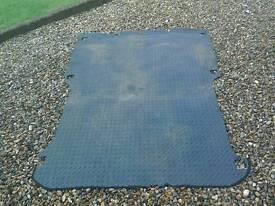 Vauxhall Combo rear rubber load mat