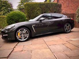 Porsche Panamera Turbo with Full Porsche History & recent Porsche 211 inspection
