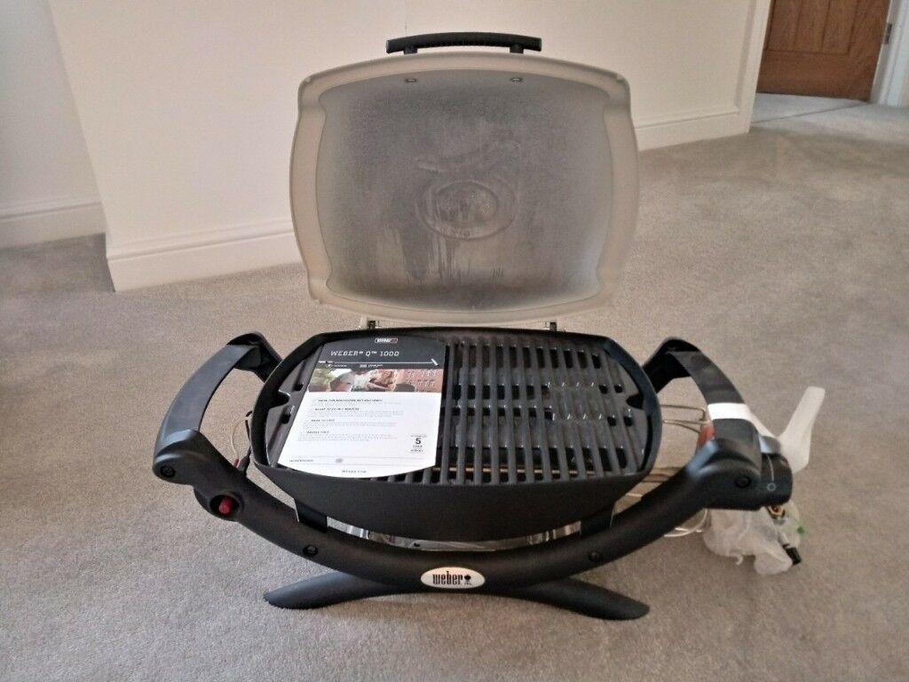 Genuine Weber Q1000 Portable Gas BBQ - BRAND