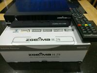 ZGEMMA H.2S DUAL SAT TUNER + 8GB USB + 1 YEAR LINE/GIFT + SETUP WITH SKY SKIN + CHEAPEST ON THE NET