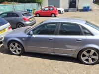 2004 Audi A4 1.8T S Line. Spares or Repair. See description