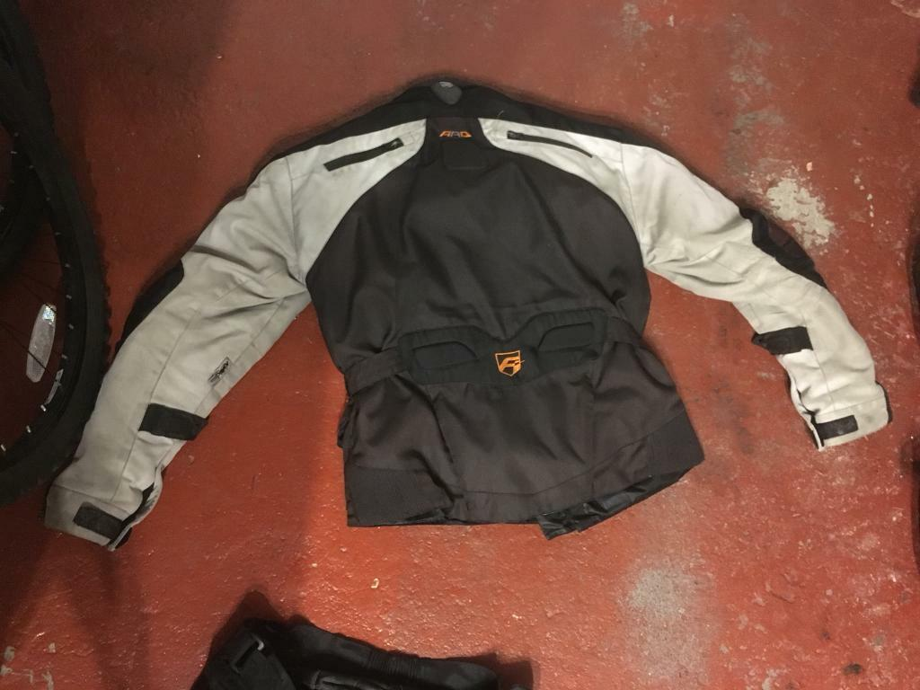 Motorcycle jacket & 2 trousers