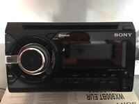 SONY double din Bluetooth USB hands free calling head unit stereo