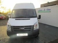 2009 transit 17 seater f/s/h ex mod full mot all the certs