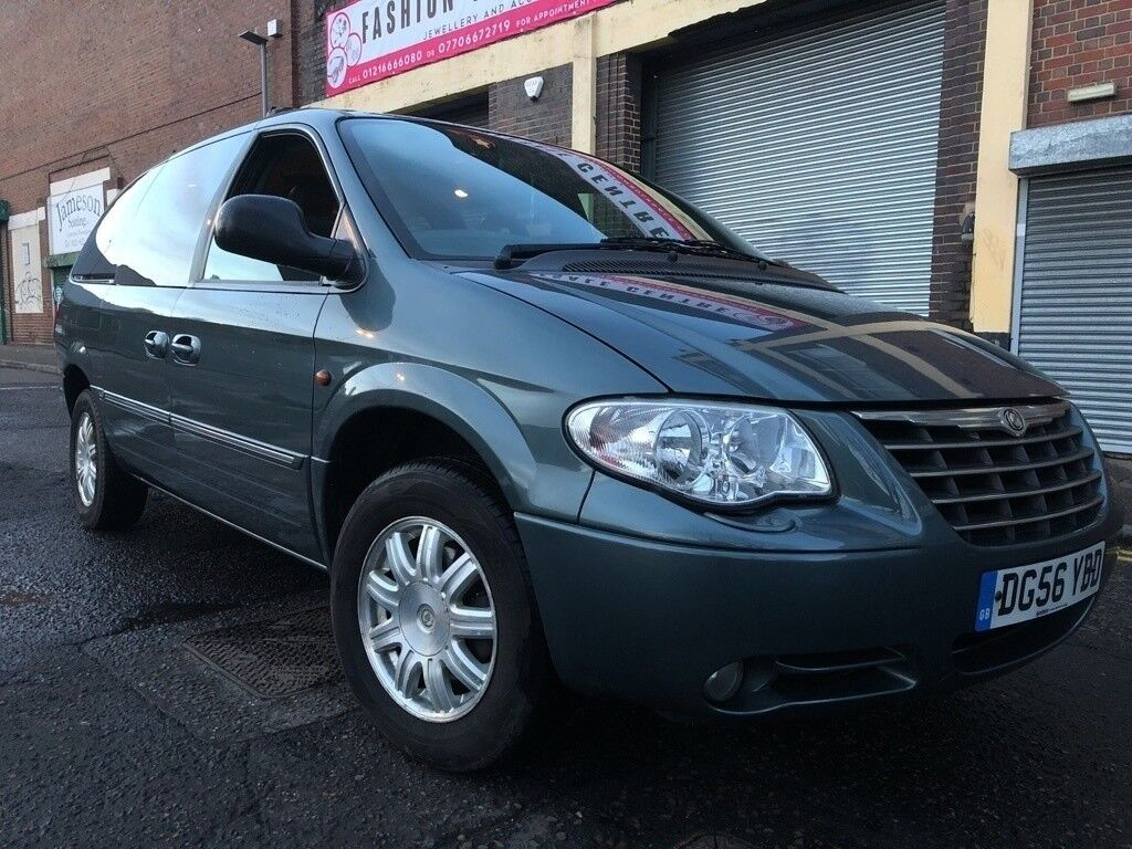 Chrysler Grand Voyager 2007 2.8 CRD Limited 5 door AUTOMATIC, FULLY LOADED,  D..