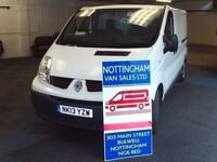 RENAULT TRAFFIC LWB Above Average Miles HENCE Low Price For 2013