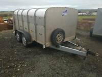 Rare 2006 ifor williams 10 x 5 livestock trailer sheep pig calf's tips etc