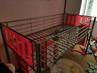 GIRLS PINK CABIN BED
