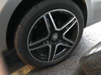 MERCEDES AMG GENUINE 19 inch wheels