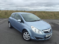 VERY LOW MILEAGE 2008 CORSA 1.2 CLUB FULL SERVICE HISTORY AND LONG MOT GREAT CAR!