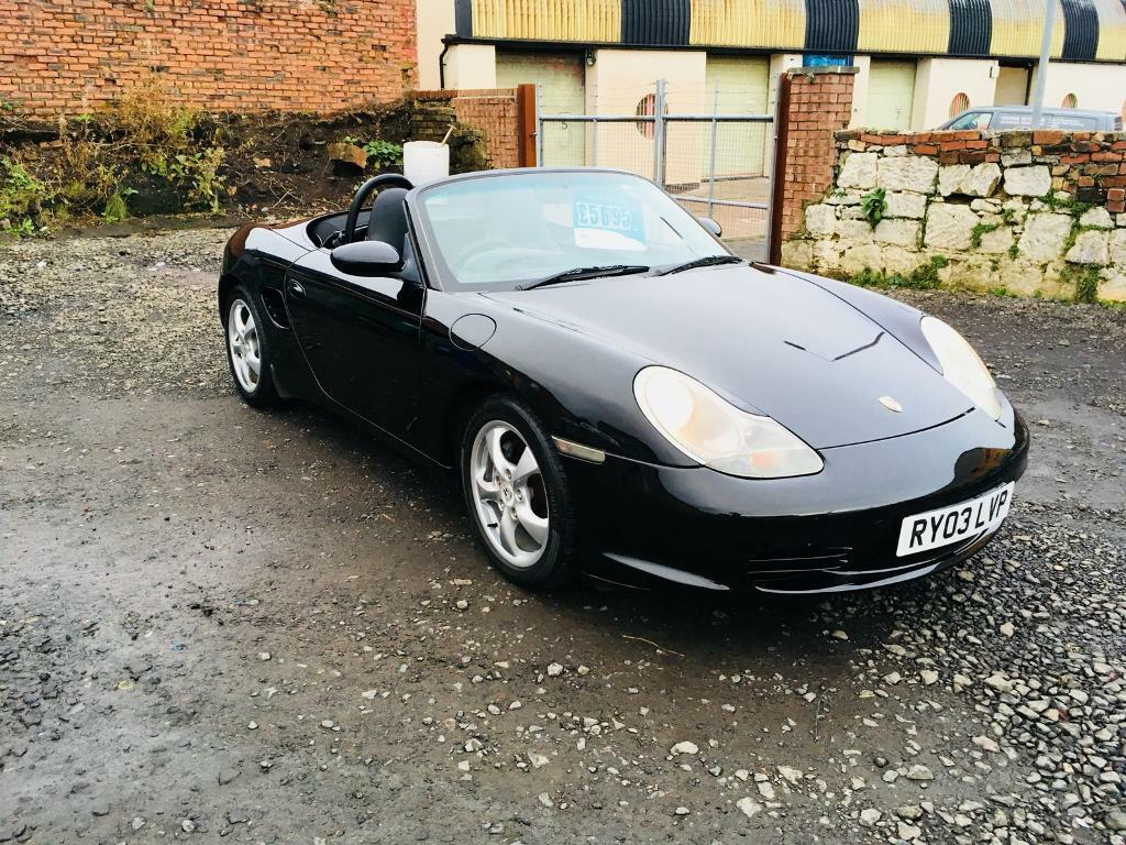 Porsche Boxster 2.7 03 reg low mileage full history excellent condition convertible px welcome