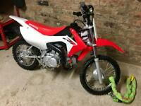 Honda crf110f kids dirtbike with datatag excellent condition