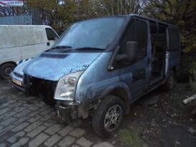 FORD TRANSIT TORNEO 2007 BREAKING FOR SPARES OR REPAIRS!
