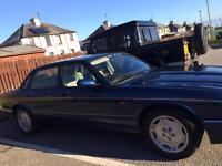 Jaguar XJ6 sport auto saloon.
