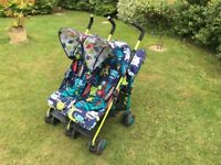 Cosatto Supa Dupa Cuddle Monster 2 Pushchair Double Stroller