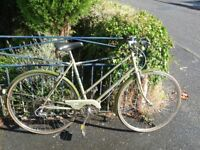 Ladies 1970,s BSA Camille pedal cycle in reasonable order
