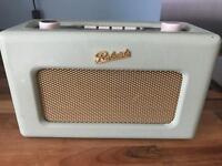 Roberts DAB radio RD6O leaf green