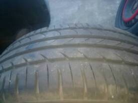 "Ford mondeo 5x108 steel wheel 16""with nearly new tyre"
