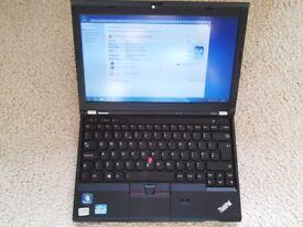 lenovo thinkpad x230 i7 ssd vgc warranty