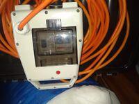 electric hook up 3 socket