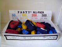 BOX OF 40 NEW REUSABLE STRAPS £20,