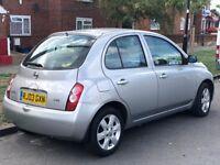 Nissan Micra 1.4 16v SVE, Registration No: RJ03GXN, 28000-Miles, Hounslow Middlesex TW59LP