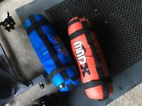 Gym slam bags weighted bags 15kg and 20kg