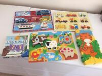 Jigsaws and puzzles chunky