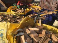 🔥 Bulk bags of Fire wood off cuts 🔥