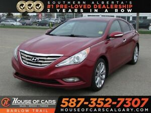 2011 Hyundai Sonata 2.0T Limited / Navi / Sunroof / Heated Seats