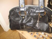 Ladies Black FCUK Tote bag. Great Condition