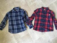 Age 4-5 shirts. Worn once Zara and River Island